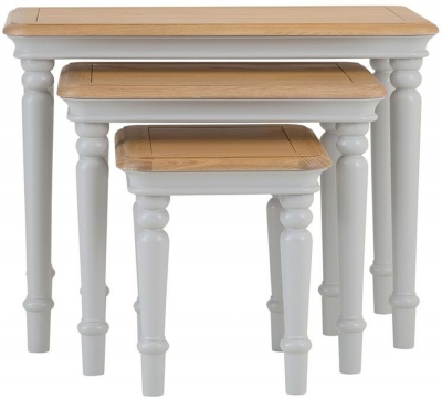 a7c7efada4 Painted Nest Of Table: Nest Tables Online At Best Price