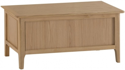 Appleby Oak Blanket Box