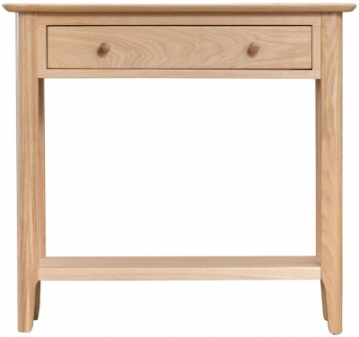 Appleby Oak 1 Drawer Console Table