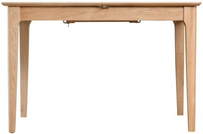 Appleby Oak 120cm Butterfly Extending Dining Table