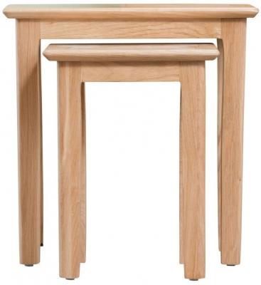 Appleby Oak Nest of 2 Tables