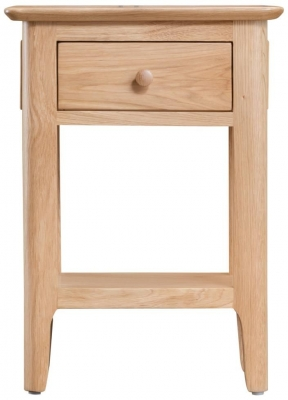 Appleby Oak 1 Drawer Side Table