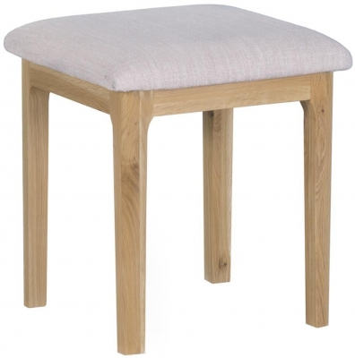Appleby Oak Bedroom Stool