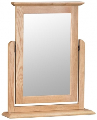 Appleby Oak Rectangular Trinket Mirror - 50cm x 60cm
