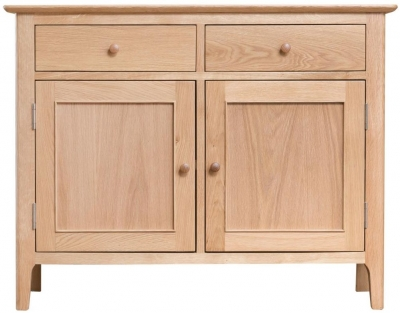 Appleby Oak 2 Door 2 Drawer Sideboard