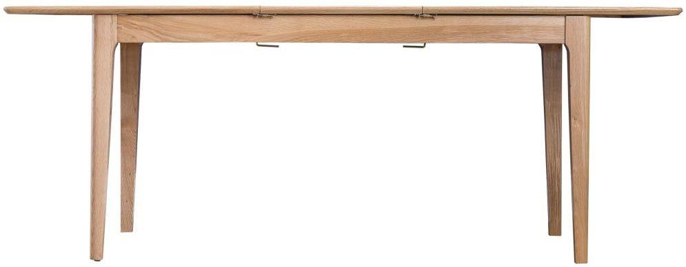 Appleby Oak 160cm Butterfly Extending Dining Table