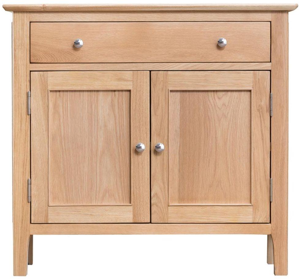 Appleby Oak 2 Door 1 Drawer Sideboard