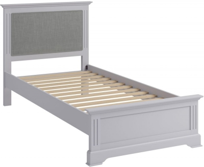 Ashby Moonlight Grey Painted Bed