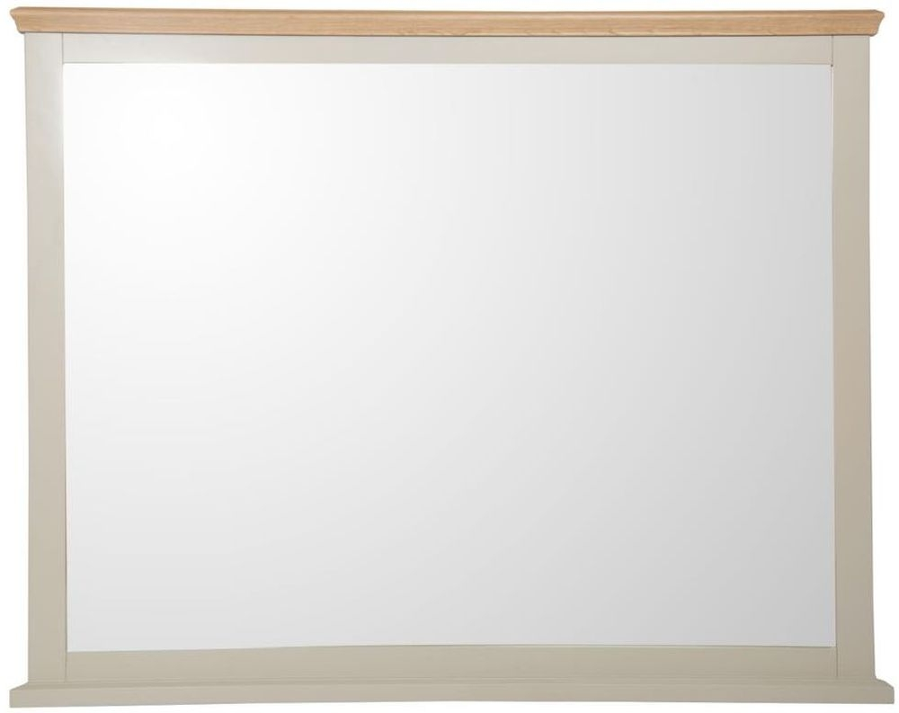 Aspen Painted Rectangular Large Wall Mirror