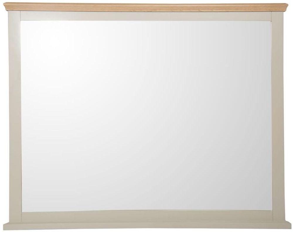 Aspen Painted Rectangular Large Wall Mirror