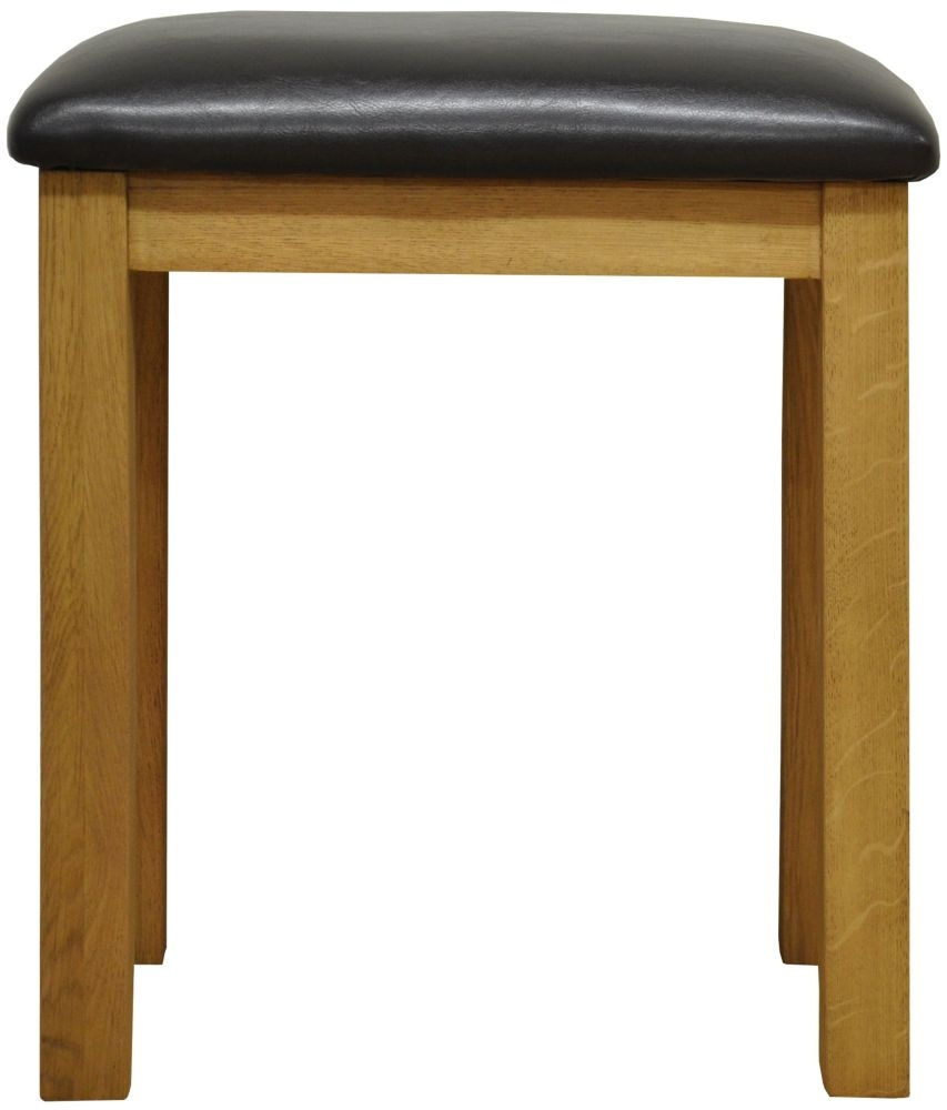 Buxton Oak Stool