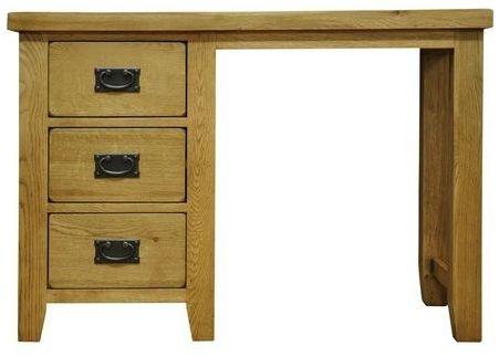 Buxton Waxed Oak Dressing Table
