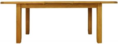 Buxton Oak Dining Table - Medium Extending