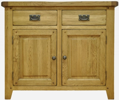 Buxton Oak Sideboard - 2 Door 2 Drawer