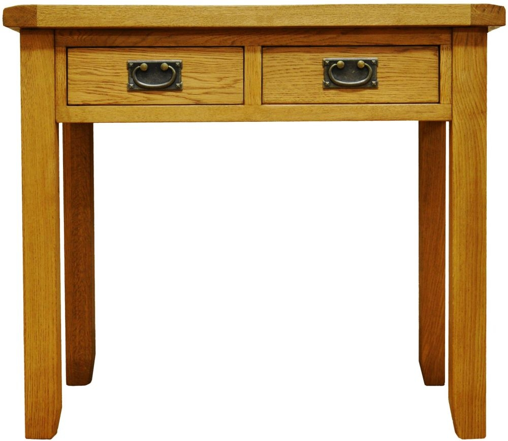 Buxton Oak Desk