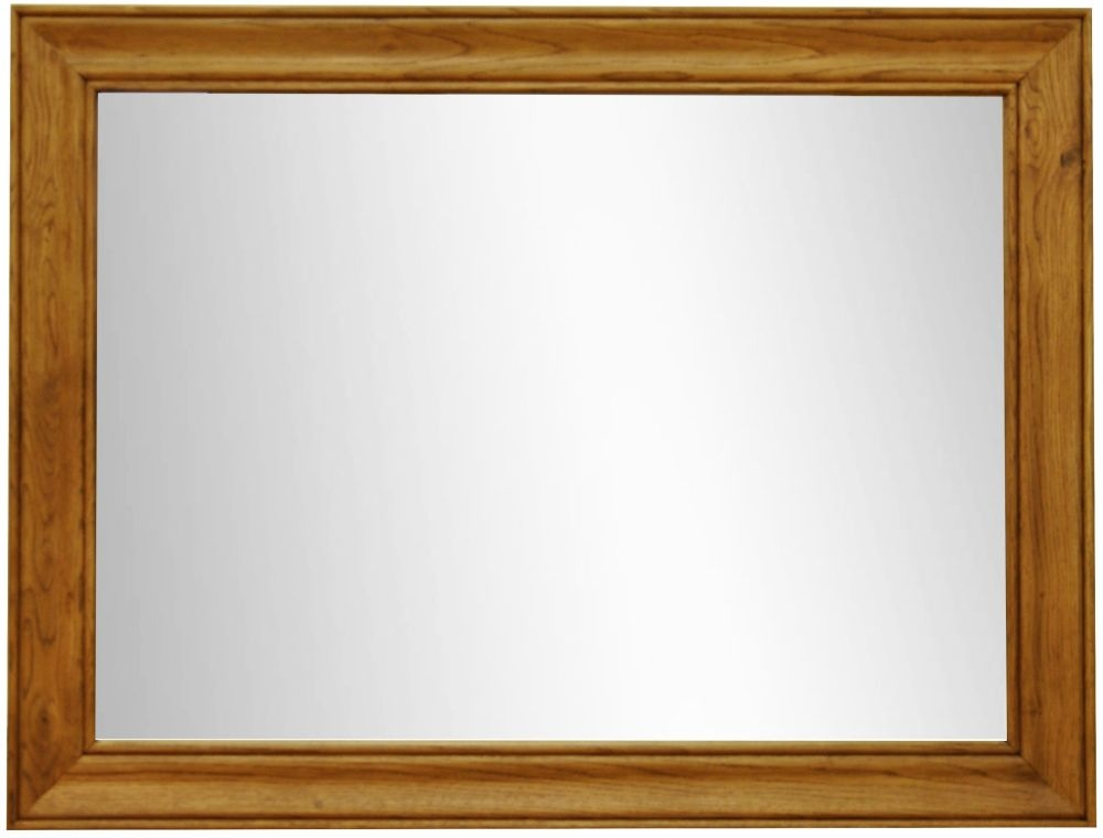 Buxton Waxed Oak Wall Mirror - Large