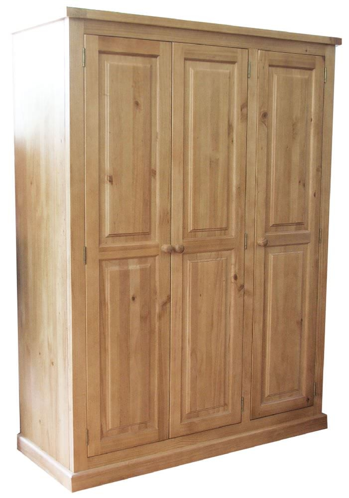 Cairo Pine Wardrobe - 3 Door