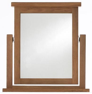 Camellia Oak Vanity Mirror