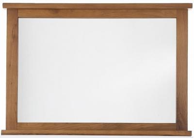 Camellia Oak Wall Mirror