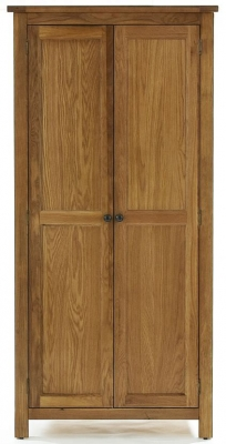 Camellia Oak Wardrobe - 2 Door