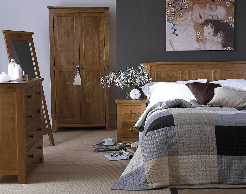 Camellia Oak Bedroom Package