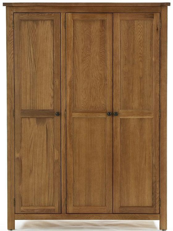 Camellia Oak Wardrobe - 3 Door