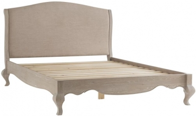 Camille Weathered Oak Bed
