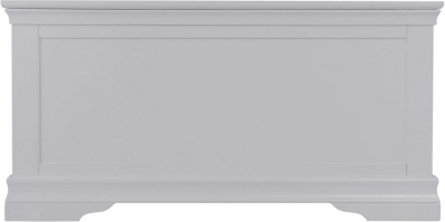 Chantilly Moonlight Grey Painted Blanket Box