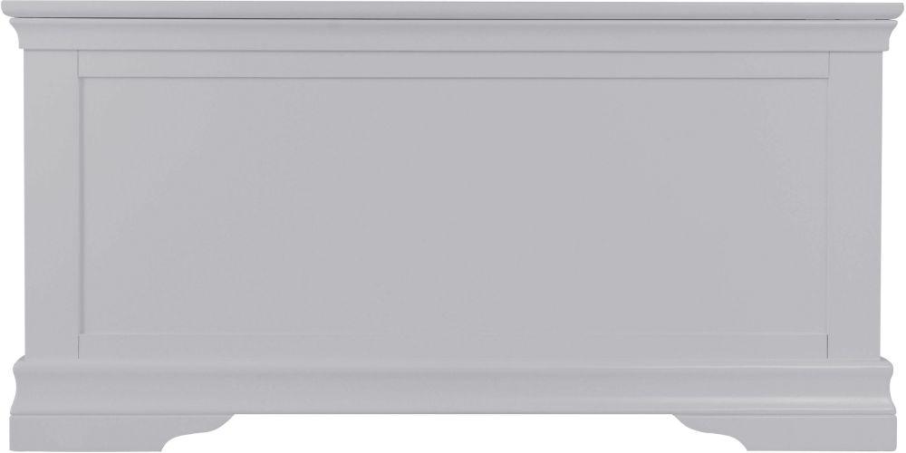 Chantilly Moonlight Grey Painted Blanket Box
