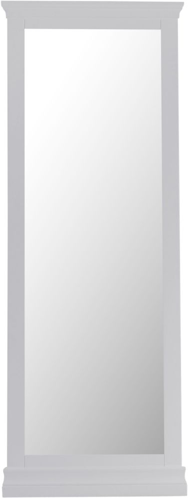 Chantilly Moonlight Grey Painted Cheval Mirror