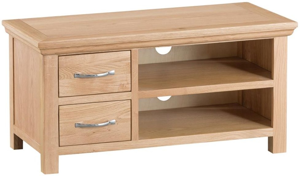 Cheshire Natural Oak TV Unit - Standard