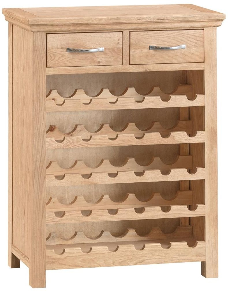 Cheshire Oak Wine Cabinet