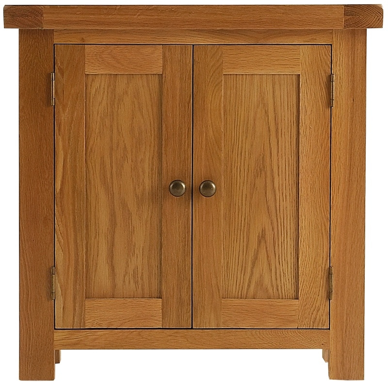 Chichester Cottage Style Rustic Oak Cupboard