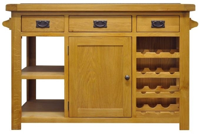 Chichester Cottage Style Rustic Oak Island - Large
