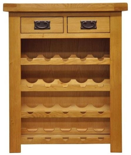 Chichester Rustic Wine Rack - Small