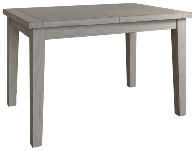 Coniston Grey Oak 125cm Butterfly Extending Dining Table