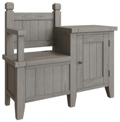 Coniston Grey Oak Monks Bench