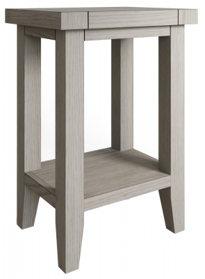 Coniston Grey Oak Side Table