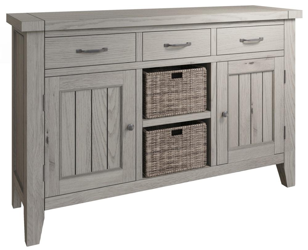 Coniston Grey Oak 2 Door Large Sideboard