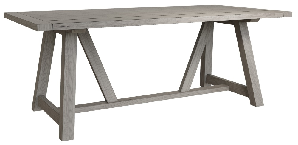 Coniston Grey Oak 200cm Dining Table