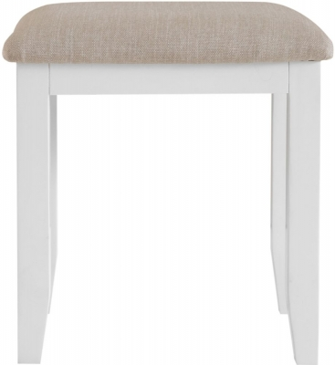Hampstead Oak and White Painted Bedroom Stool