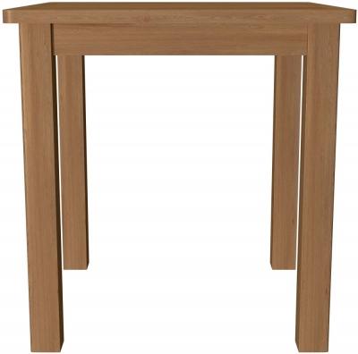Hampton Rustic Oak Square Dining Table