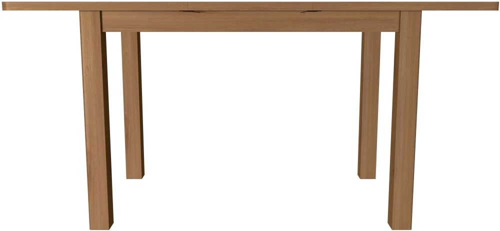 Hampton Rustic Oak 120cm Extending Dining Table