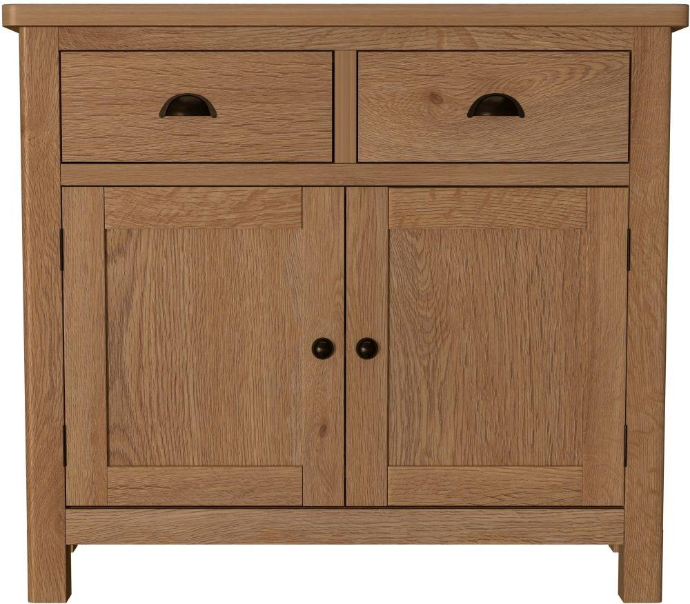 Hampton Rustic Oak Medium Sideboard