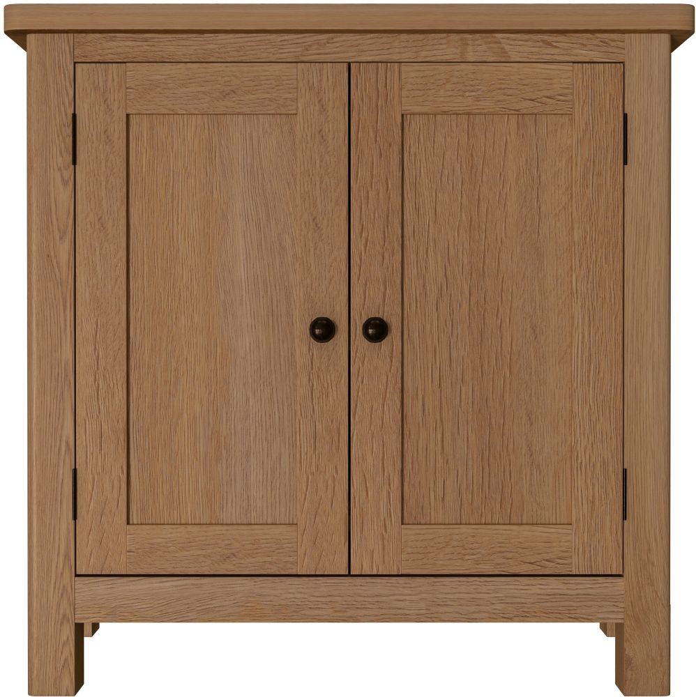 Hampton Rustic Oak Small Sideboard