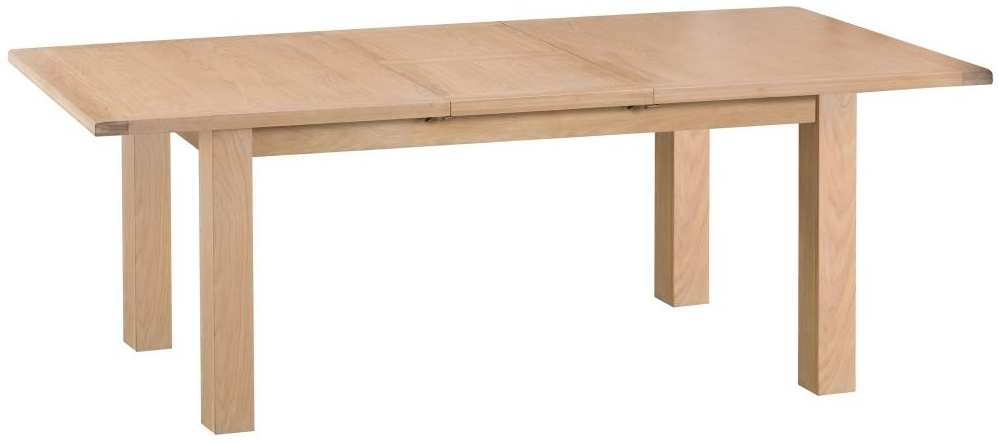 Henley Oak Large Butterfly Extending Dining Table