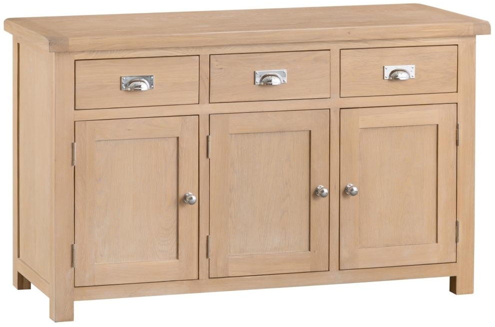 Henley Oak Large Sideboard