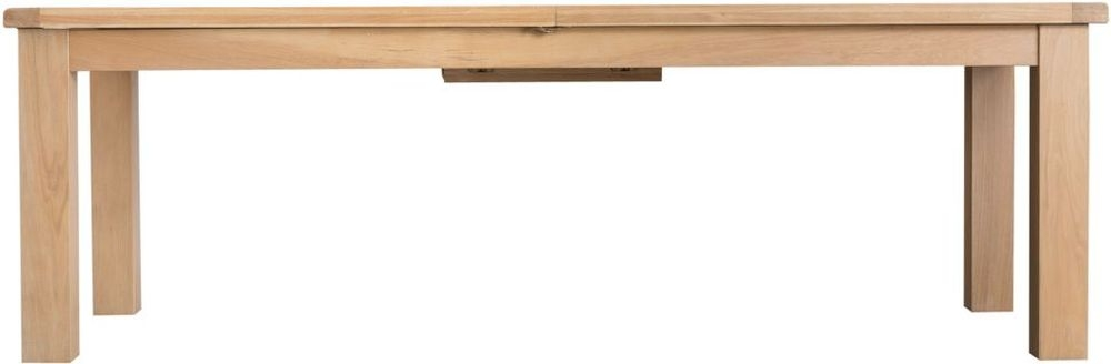 Henley Oak Extra Large Butterfly Extending Dining Table