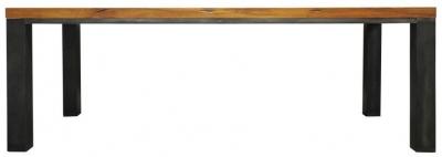 Industrial Oak Dining Table - 2.2m