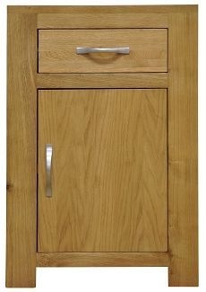 Newton Oak Cupboard - Small